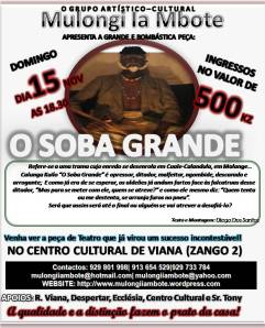 Panfleto do Soba, 15/11/09